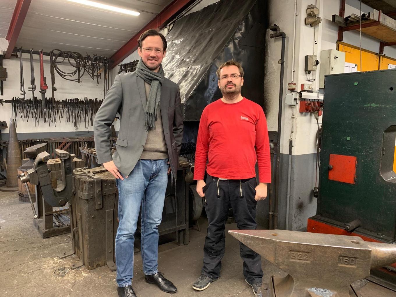 Treffen mit Dirk Wiese und Rafael Jürgens